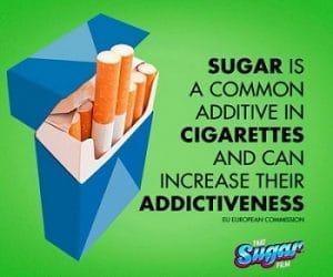 Cigarettes Contain Sugar